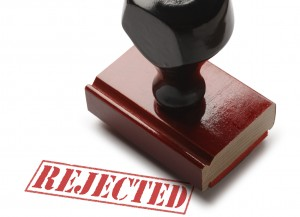 Rejected stamp NY Disability Insurance Lawyers